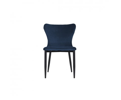 Kirkby Chair (Velvet Blue)