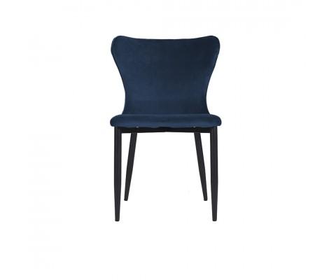Kirkby Chair (Velvet Navy Blue)