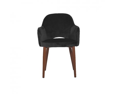Novae Dining Chair (Velvet Black)