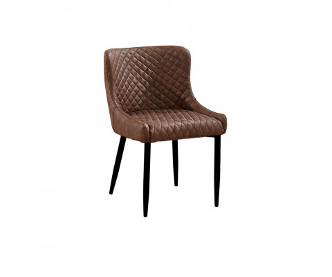 Rae Chair (Brown PU)
