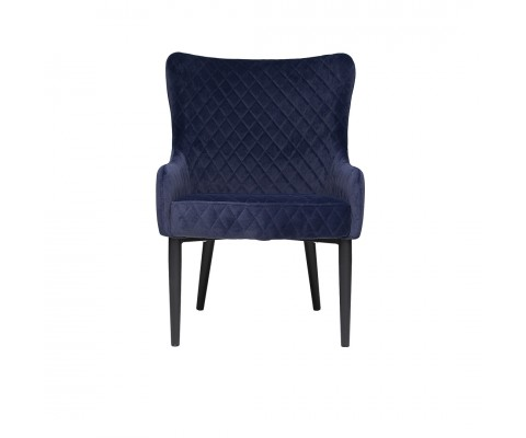 Rae Lounge Chair (Navy Blue)