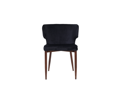 Susie Chair (Velvet Black)