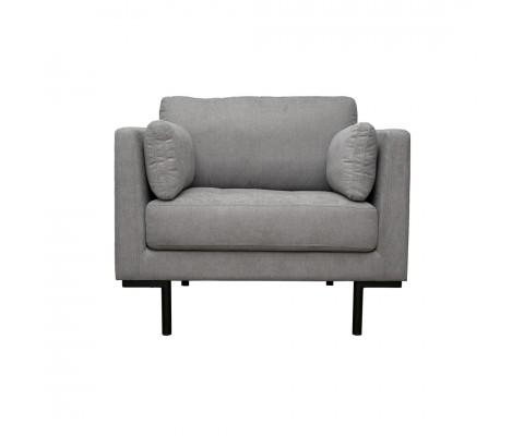 Herlene Armchair Sofa (Light Grey)