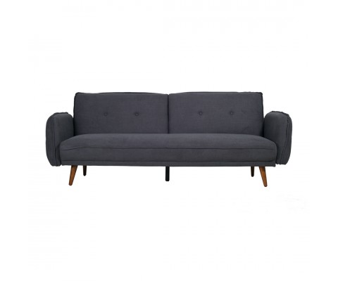 Tupplur 3 Seater Sofa Bed (Dark Grey)