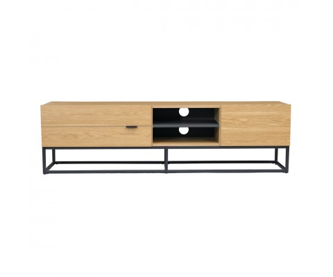 Trastal Tv Console (Natural+Grey)