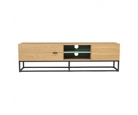 Trastal Tv Console (Natural+Green)