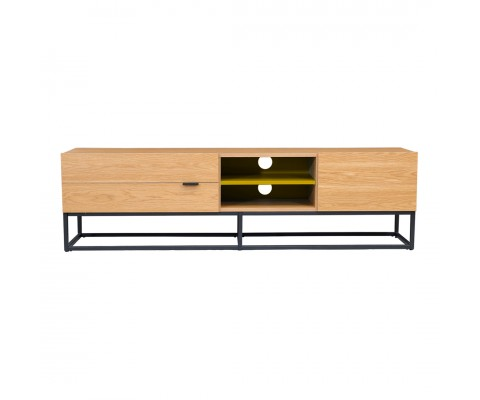 Trastal Tv Console (Natural+Yellow)